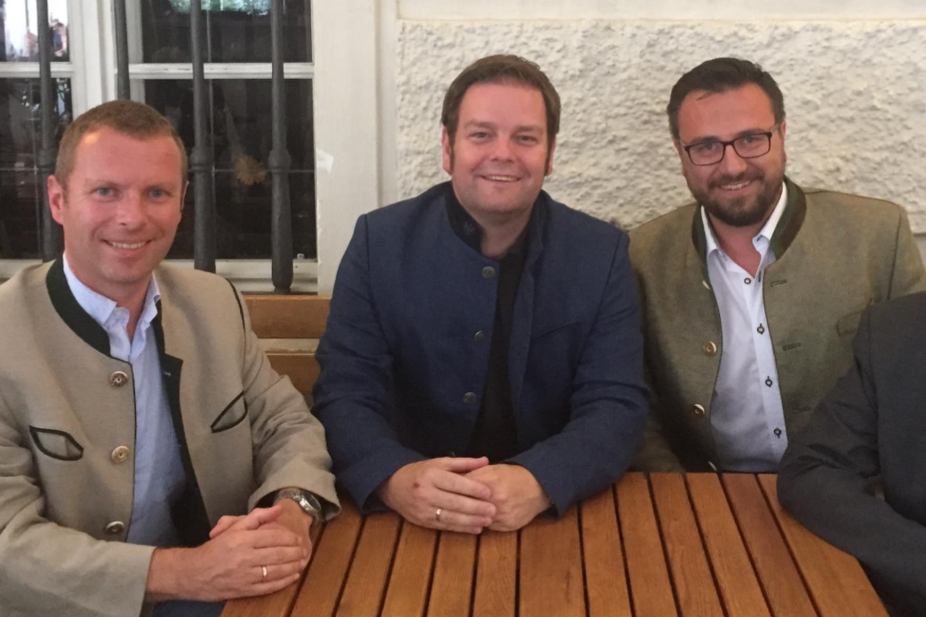 Neue Südtiroler Freiheitlichen-Spitze auf Antrittsbesuch bei FPÖ Tirol