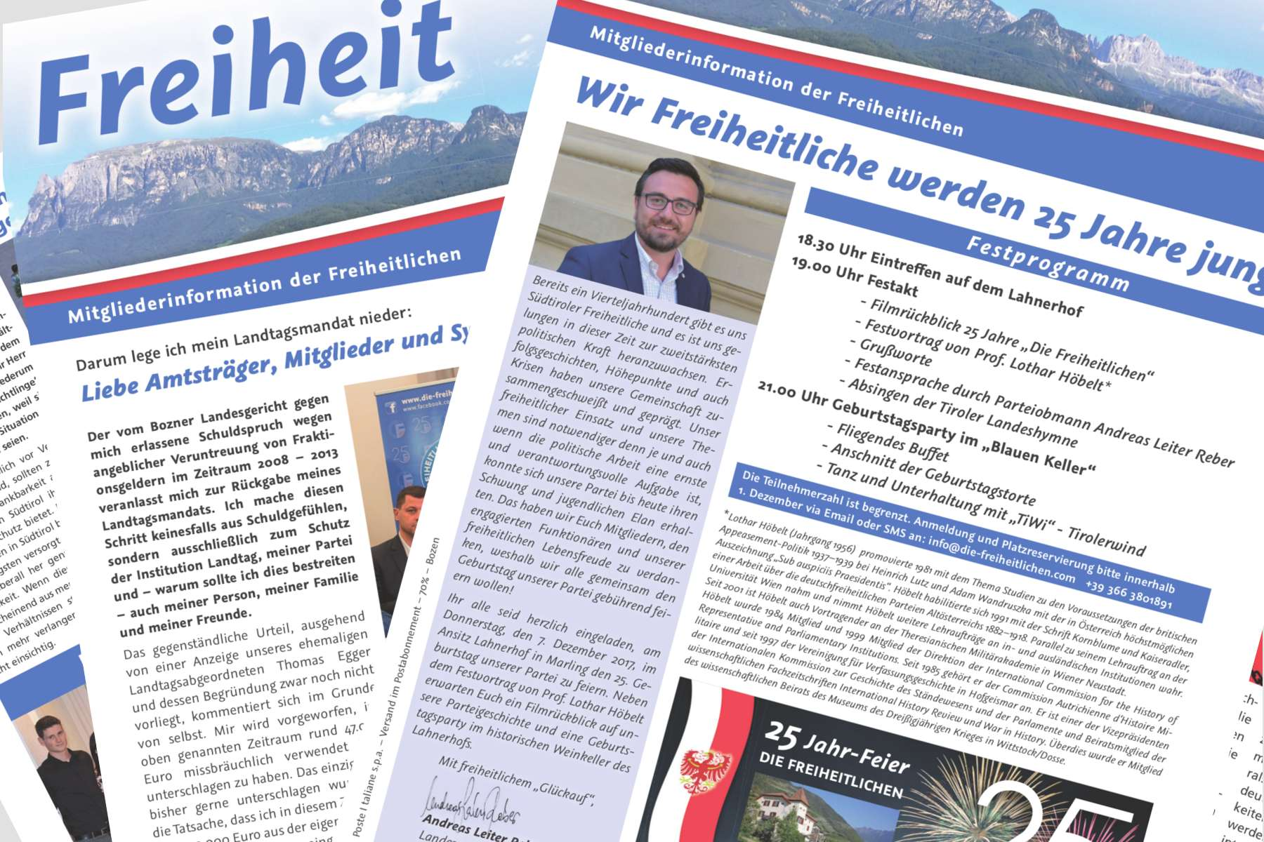 Die Freiheit, Ausgabe Nr. 4 – 2017
