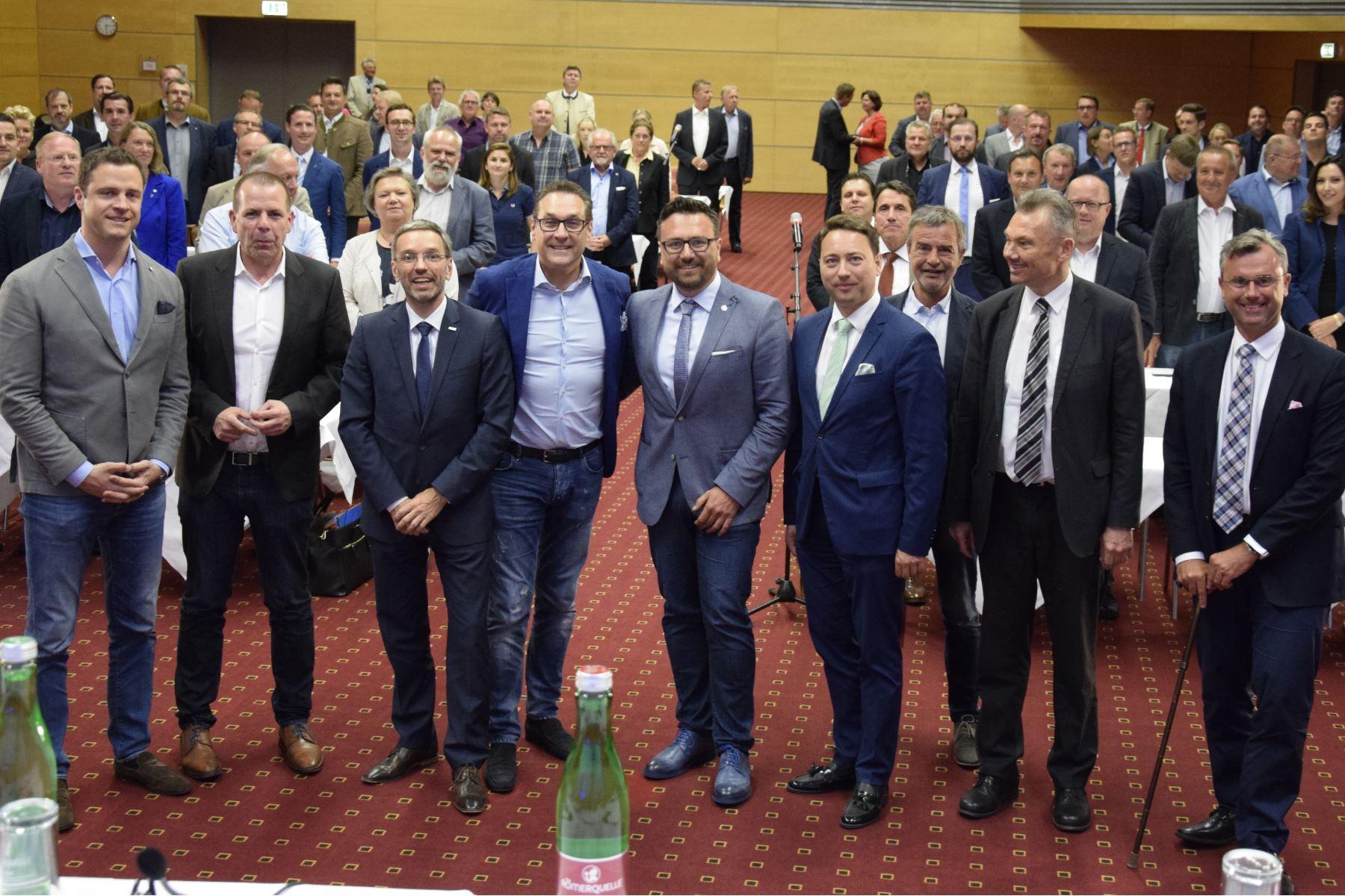Leiter Rebers Einstand im Bundesvorstand der FPÖ