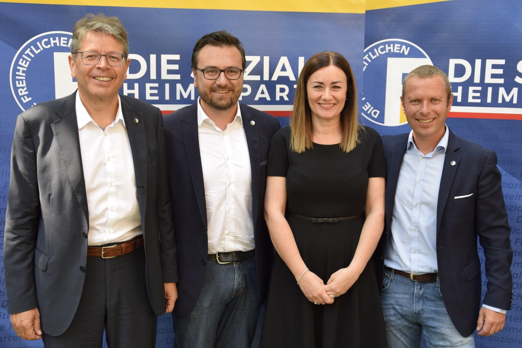 LTW18: Freiheitliche Kandidatenliste präsentiert