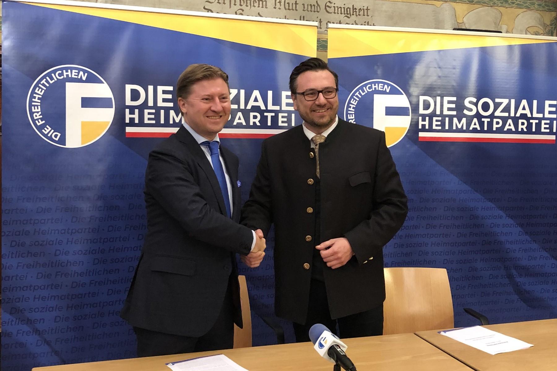 Otto Mahlknecht als neuer Freiheitlicher Generalsekretär ernannt