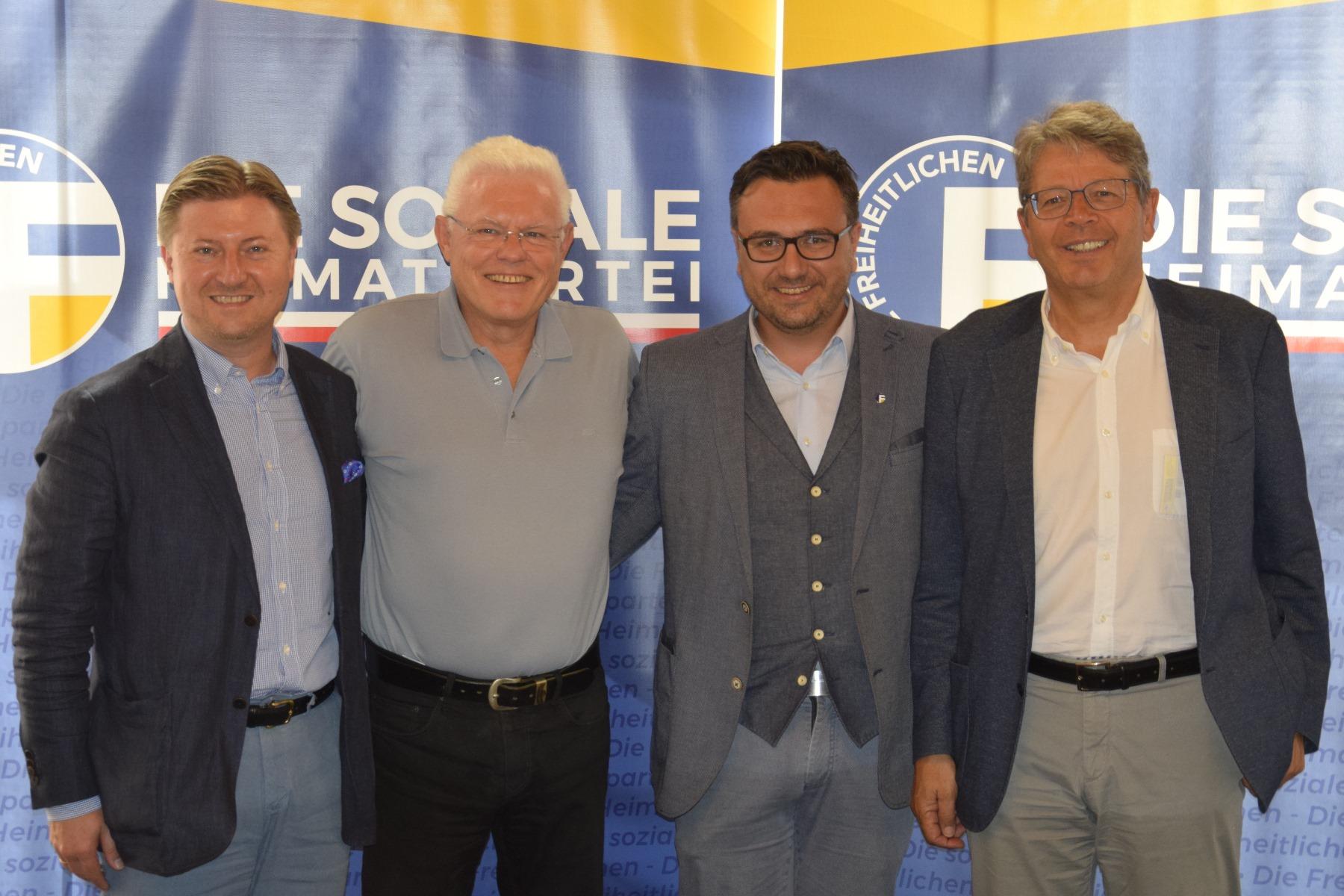 13 Jahre Einsatz für Südtirol – Freiheitlicher Dank an Werner Neubauer!