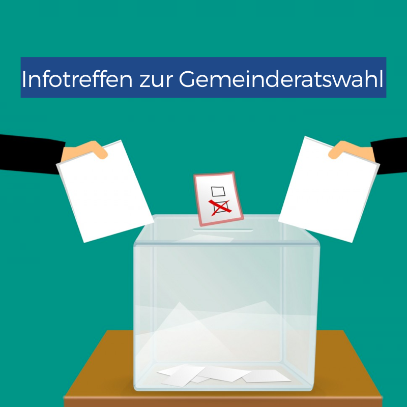 Infotreffen zur Gemeinderatswahl am 15. Februar in Bozen