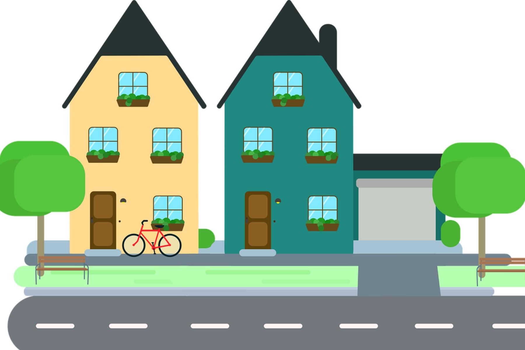 Anfrage | Gewinnung von Wohnraum und Abstand bei Bauten