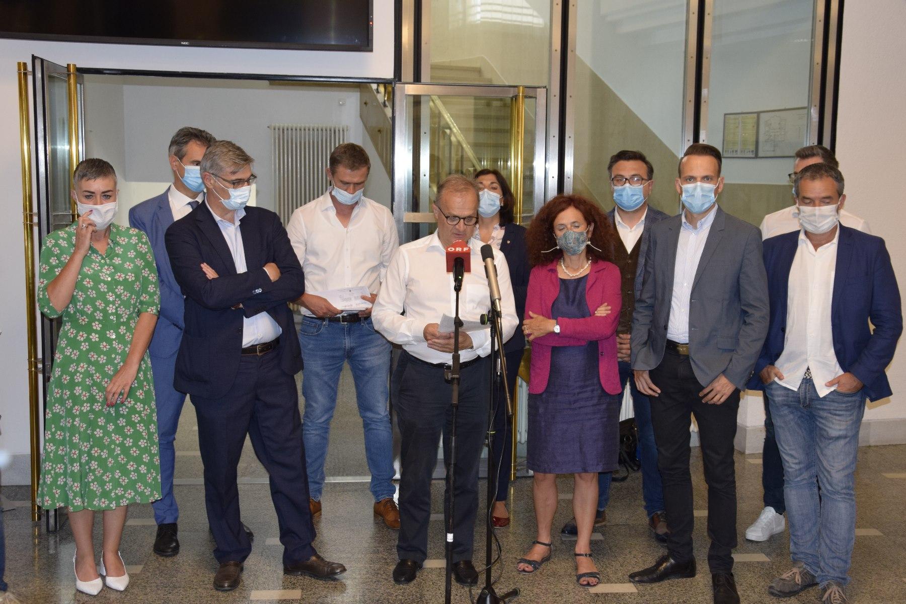 U-Ausschuss zur Masken-Affäre – Stellungnahme der Opposition