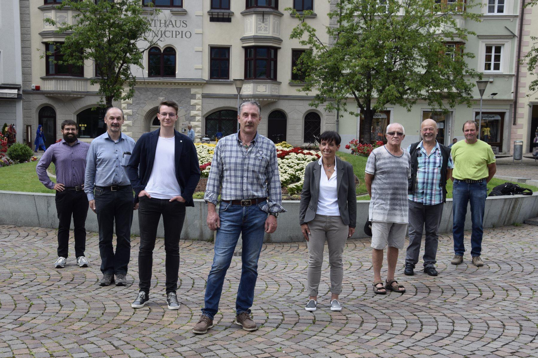 Brixen: Kandidatenliste und Schwerpunktthemen präsentiert