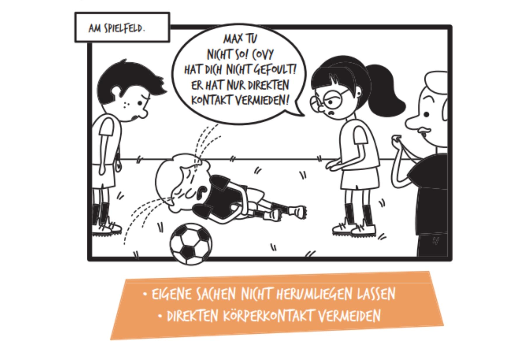 "Corona-Comic an Schulen: ""Im Ernst, Herr Achammer?"""