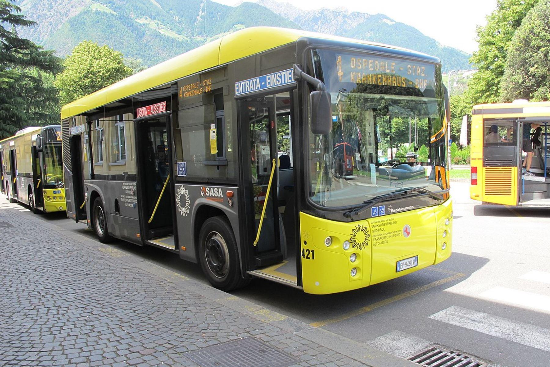 Meran: Entfernte Ticketautomaten in Stadtbussen ersetzen!